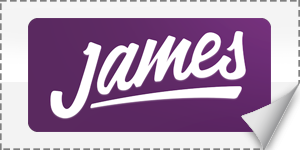 james delivery Logo